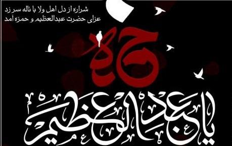 مراسم شهادت حضرت حمزه(ع)و وفات حضرت عبدالعظیم حسنی(ع)99