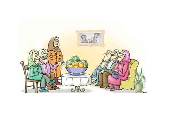 داستان بسیار جالب و قشنگه خواستگاری مادر بزرگ در...