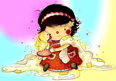 داستان جذاب عروسک دختر کوچولو