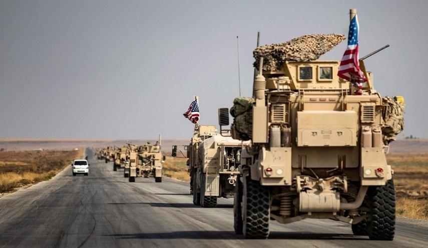 آمریکایی ها ده ها کامیون سوخت را قاچاقی از سوریه به عراق بردند