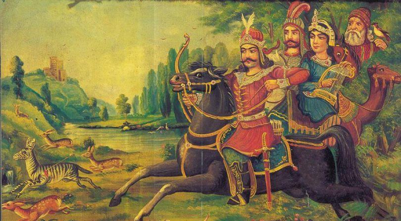داستان خواندنی پادشاه و عشق او به کنیزک جوان