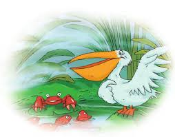 داستانی از مجموعه آثار کلیله و دمنه(مرغ ماهیخوار و خرچنگ)