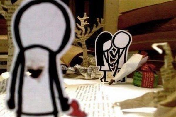 داستان زن زیبارو و مرد وفا دار
