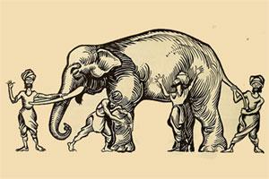 داستان جذاب فیل در تاریکی(مثنوی معنوی)