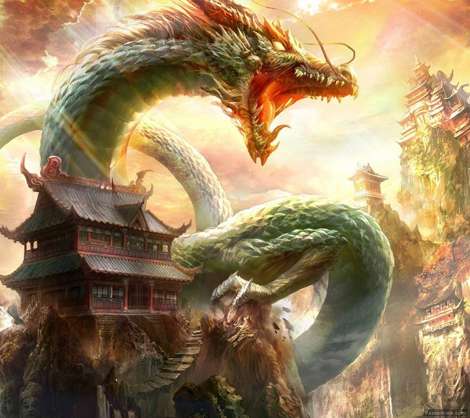 حکایت کره ای جذاب کوه جادوگر و شاه اژدها