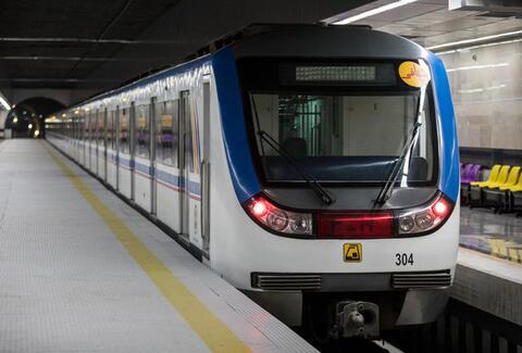 داستان دنباله دار زیبای خواستگار قسمت صحنه ی داخل مترو
