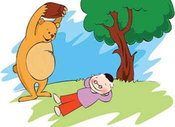 داستان جذاب و سرگرم کننده خرس و اژدها یا همان دوستی خاله خرسه معروف(مثنوی معنوی)
