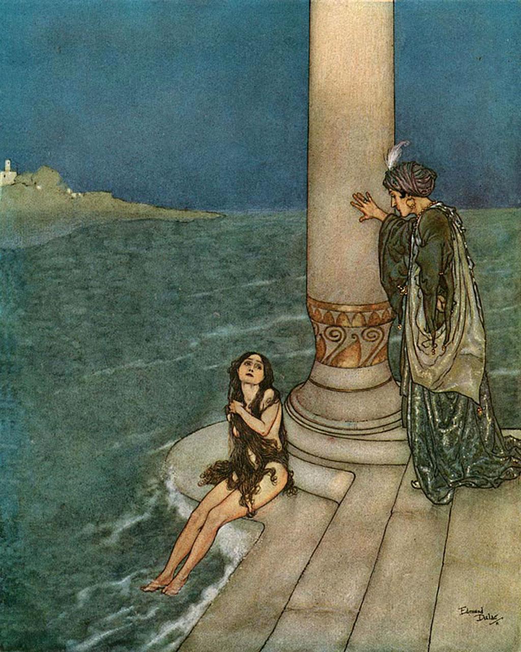 حکایت شاهزاده و زن جادو(مثنوی معنوی)