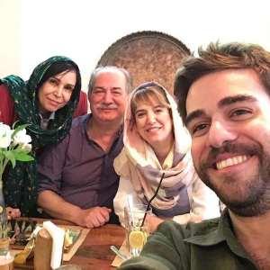 ستاره پسياني در کنار خانواده / ستاره پسياني بازيگر سينما