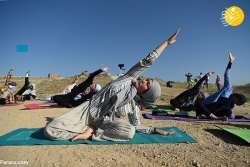 زنان افغاني در حال تمرين يوگا / ورزش زنان افغان