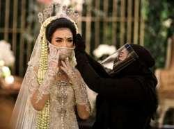 آماده کردن عروس در روزهاي کرونايي