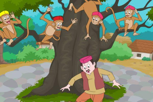 داستان طنز « میمون و کلاه فروش »