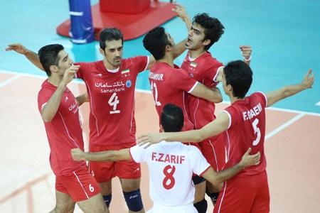 تیم والیبال ایران مقتدرانه تیم والیبال امریکا را کنار زد !