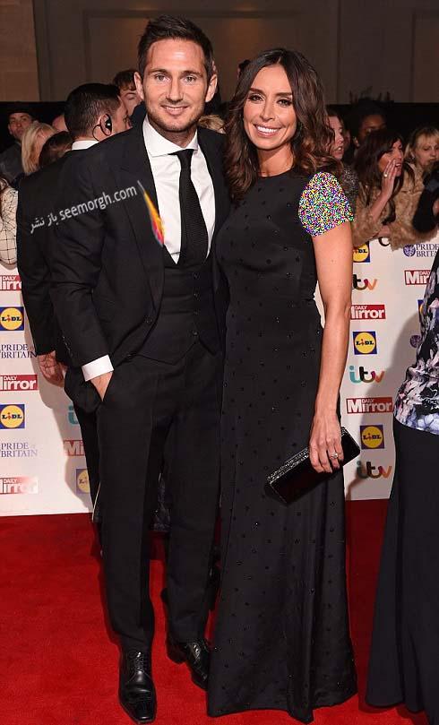 لمپارد و همسرش در لندن