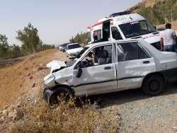 تصادف و کشته شدن سه نفر در جاده نهبندان بيرجند