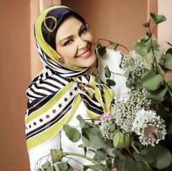 بهاره رهنما با روسري زيبا /بهاره رهنما با حجاب