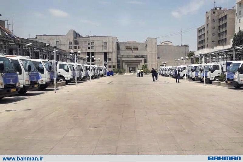 تحویل 30 دستگاه کامیونت شیلر با کاربری حمل پسماندهای کرونایی بیمارستان ها