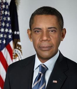 اولین تصویر از بازیگر ایرانی که نقش باراک اوباما را بازی میکند