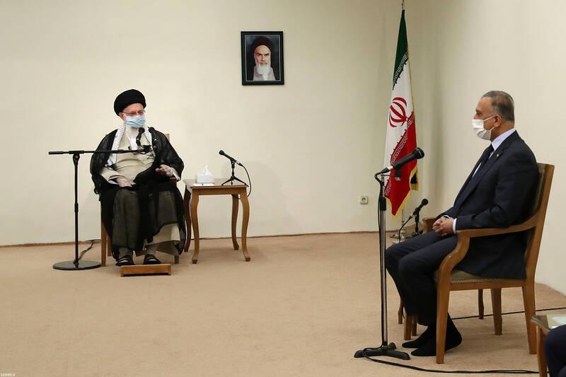 رهبر انقلاب در دیدار نخست وزیر عراق