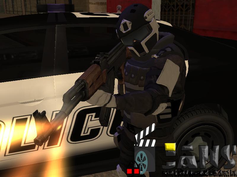 دانلود اسلحه (ak47) برای gta sa