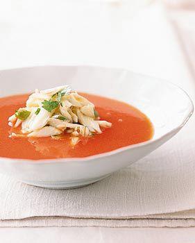 سوپ تایلندی با هندوانه و خرچنگ