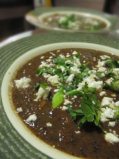 طرز تهیه سوپ لوبیا با زیره
