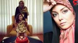 جشن تولد دختر آزاده نامدار