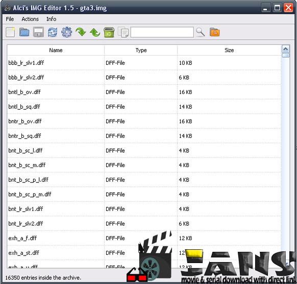 دانلود نرم افزار Alci IMG editor