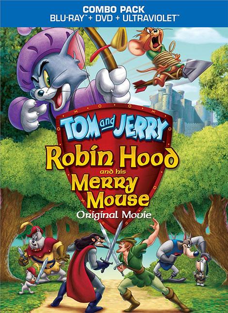 دانلود دوبله فارسی انیمیشن Tom and Jerry: Robin Hood and His Merry Mouse 2012