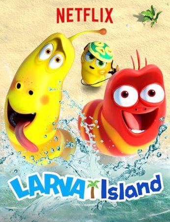 دانلود انیمیشن The Larva Island Movie 2020 با دوبله فارسی