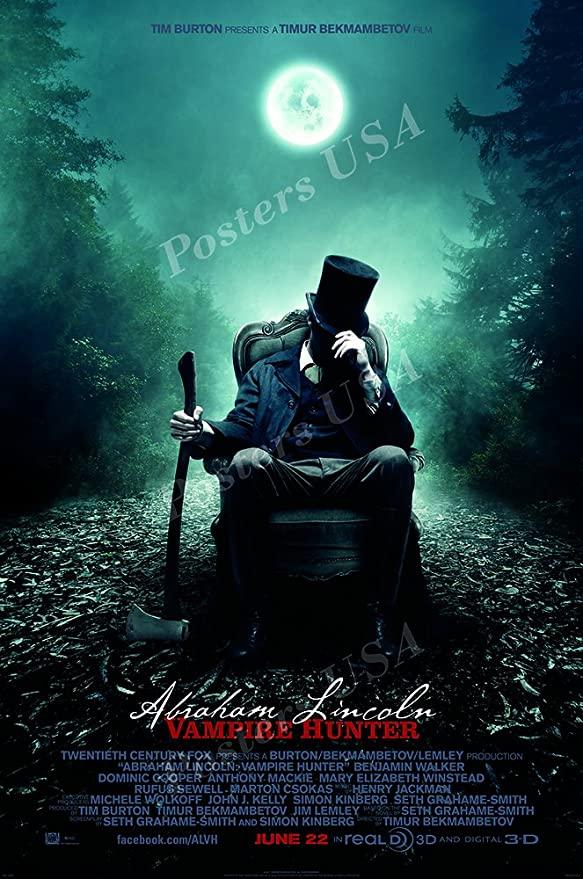 دانلود فیلم آبراهام لینکلن شکارچی خون آشام با دوبله فارسی