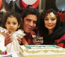 يکتا ناصر در جشن تولد همسرش