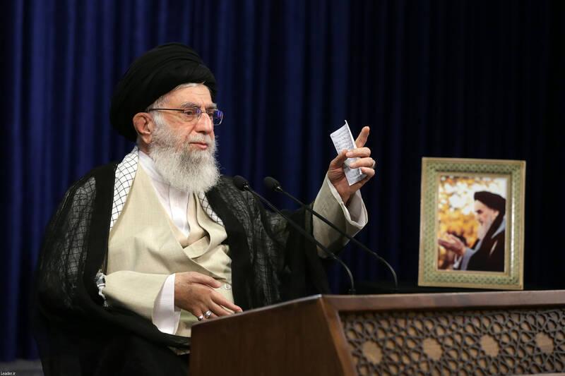 رهبر انقلاب در نشست تصویری با هیئت وزیران بمناسبت هفته دولت