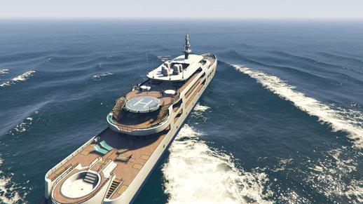 کشتی لاکچری برای GTA V | Yacht Deluxe 1.9