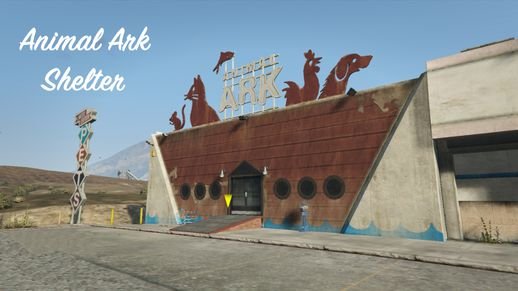 پت شاپ برای GTA V | Animal Ark Shelter 1.3