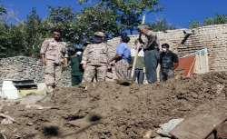 کمک سپاه به 4 روستاي سيل زده بيرجند