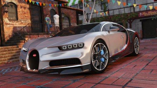 خودرو Bugatti Chiron برای GTA V