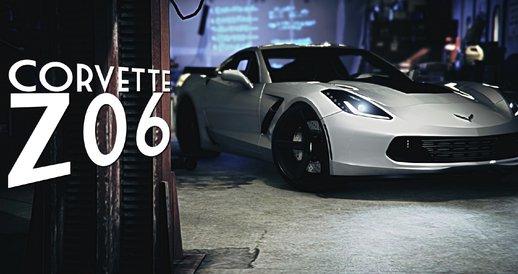 خودرو Chevrolet Corvette C7 Z06 برای GTA V