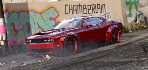 دانلود 2016 Dodge Challenger برای GTA V