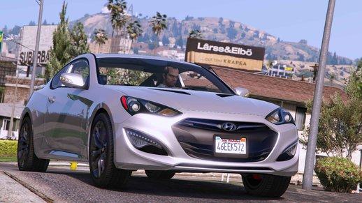 خودرو 2013 Hyundai Genesis برای GTA V