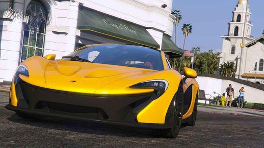خودرو McLaren P1 2014 برای GTA V