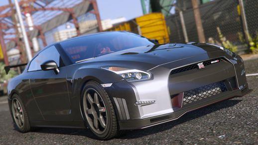 خودرو 2015 Nissan GTR برای GTA V