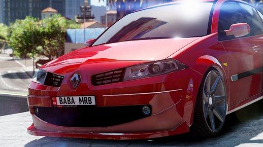 خودرو رنو مگان برای GTA V