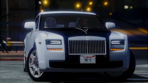 خودرو رولزرویس گوست برای GTA V
