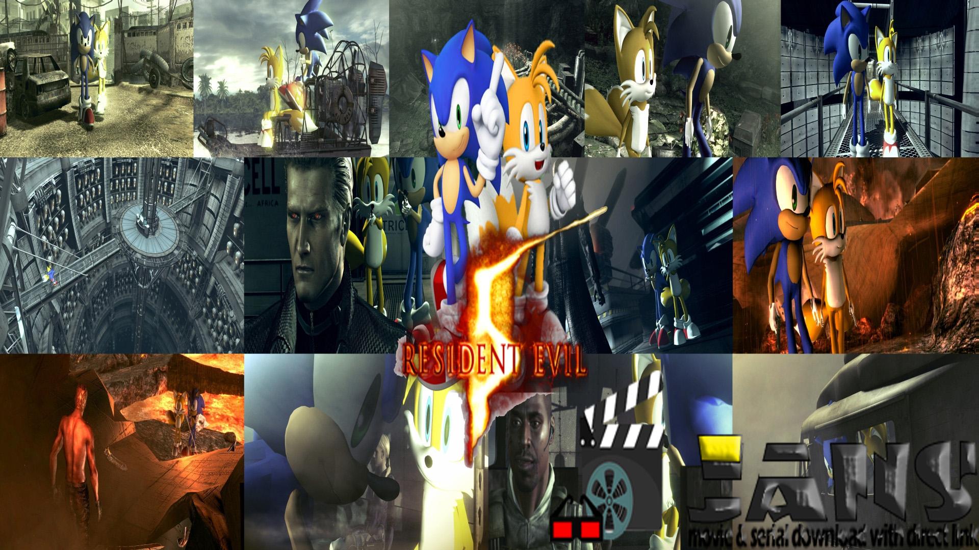 دانلود اسکین سونیک برای Resident Evil 5