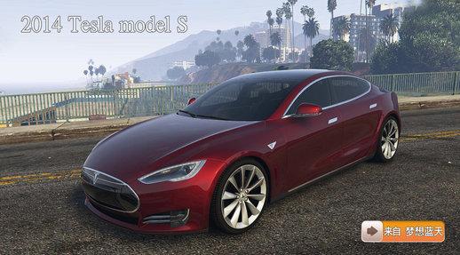 خودرو تسلا S برای GTA V