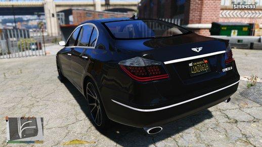 خودرو هیوندای جنسیس برای GTA V