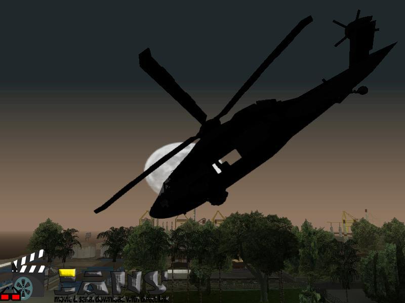 دانلود هلیکوپتر سپاهی برای بازی GTA SA