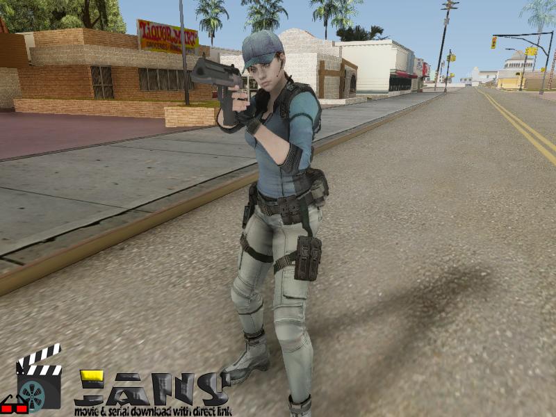 دانلود اسکین جیل ولنتاین برای GTA SA