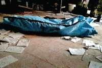 پيدا شدن جسد زن جوان در سطل زباله در مشهد